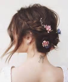 coiffure de mariage cheveux mi coiffure de mariage cheveux mi longs le mariage de wedzem