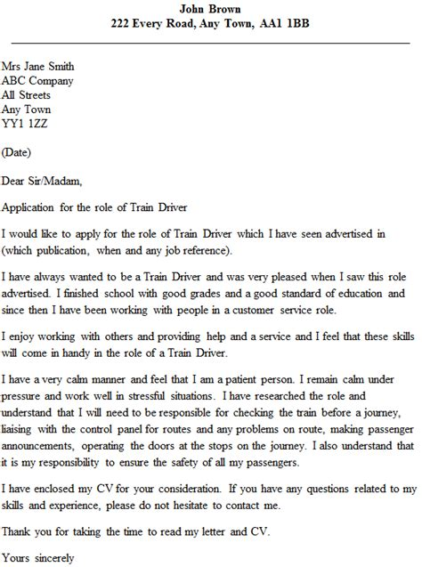 Railroad Conductor Trainee Resume Exles by Driver Cover Letter Exle Icover Org Uk