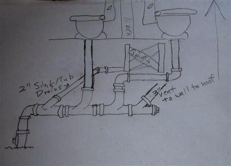 2 toilet vent ok this way plumbing diy home improvement diychatroom
