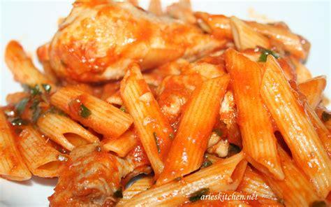 chicken  penne pasta recipes
