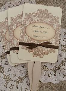 wedding favors wedding fans rustic wedding country With fans for wedding favors