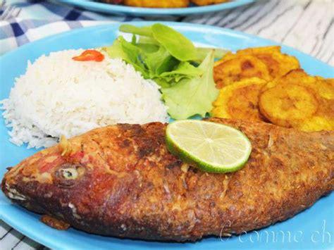 cuisiner coco plat recettes de poisson frit