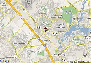 Map Of Residence Inn HoustonClear Lake Houston
