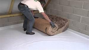 Isoler Un Sol Froid : isoler comble perdu au sol laine min rale de verre avec ~ Premium-room.com Idées de Décoration