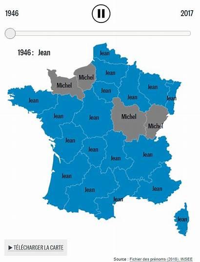 Names France Popular Evolution Vividmaps Maps