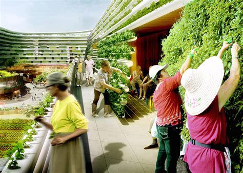 visionary homefarm combines retirement homes  vertical