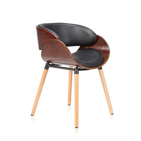 Designer Möbel Second by Makika Chaise Design R 233 Tro En Noir Brun Bureau