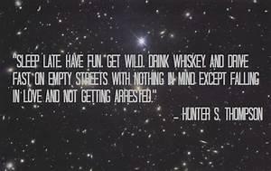 Hunter S. Thomp... S Thompson Quotes