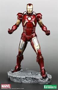 Avengers Movie Iron Man Mark VII ARTFX Statue - The Toyark ...