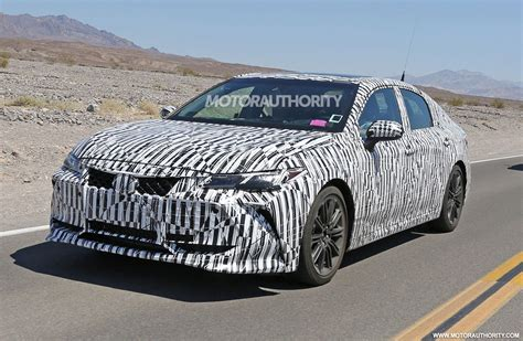 toyota avalon spy shots