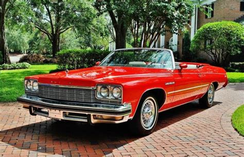 Buick Lesabre Convertible For Sale by 1975 Buick Lesabre Convertible Stunning 79k Original
