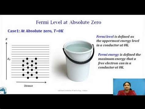 Therefore, the fermi level for the extrinsic semiconductor lies close to the conduction or valence band. Fermi Level in semiconductors - YouTube