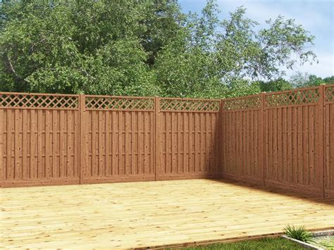 Curved Trellis Fencing by Our Fence Panel With An Attractive Decorative Trellis And