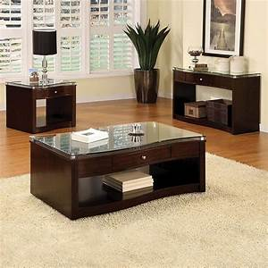 Black, Coffee, And, End, Table, Sets, Furniture