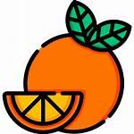 Icon Orange Icons Flaticon Moon
