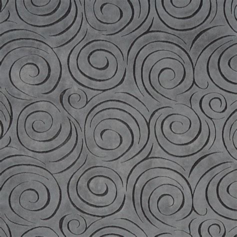 grey abstract swirl microfiber stain resistant upholstery