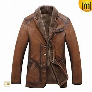 Fur Lined Winter Coat Men CW819075