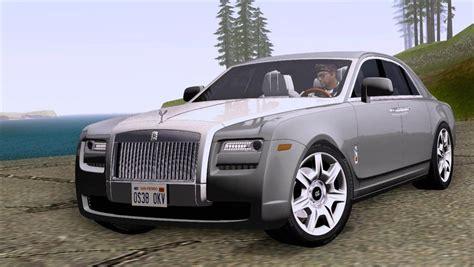 Rolls Royce Ghost Modification by Gta San Andreas Rolls Royce Ghost V1 Mod Gtainside