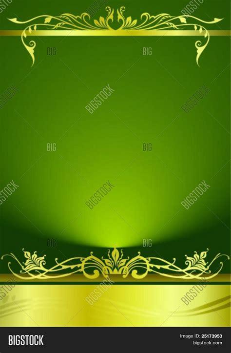 Elegant Green Metallic Background Vector & Photo Bigstock