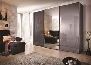 Porte Coulissante Miroir : acheter votre dressing 3 portes coulissantes avec miroir ~ Carolinahurricanesstore.com Idées de Décoration