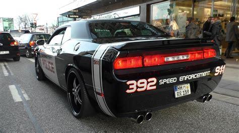 Polizei Stoppt Dodge Challenger by Challenger Car Auto Car Hd
