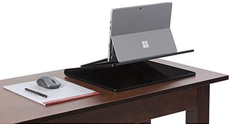 slanted table top podium laptop stand for desktops