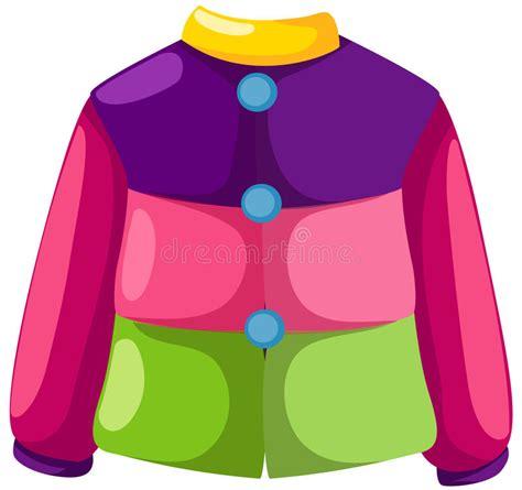 jacket stock vector illustration  garment elegant