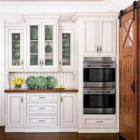 wire mesh kitchen cabinets country kitchen ideas barn style doors wire mesh and 1558