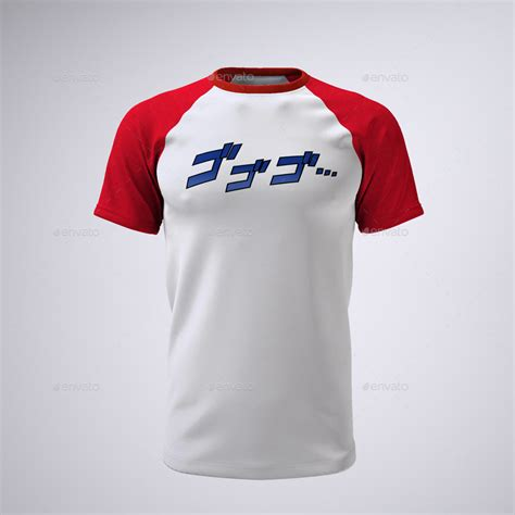 These unique products are created individually by independent creators to help bring your design ideas to life. T-Shirt With Short or Raglan Sleeves Mock-Up by Sanchi477 ...