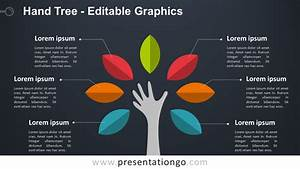 Hand Tree Powerpoint Diagram