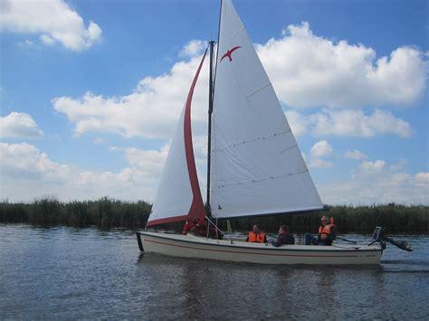 Valk Zeilboot by Segeln Im Friesland Langweer Und Das Ijsselmeer