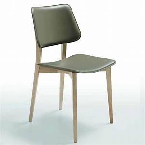 Chaise Vintage Cuir : chaise vintage en cuir joe midj 4 pieds tables chaises et tabourets ~ Teatrodelosmanantiales.com Idées de Décoration