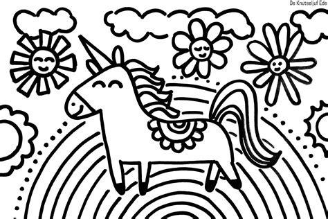 Eenhoorn Kleurplaat Eenhoords by Eenhoorn Unicorns Kleurplaten Kleurplaat Kleurplaten