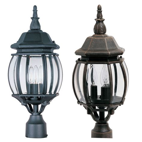 maxim 1035 crown hill 21 quot outdoor post lighting