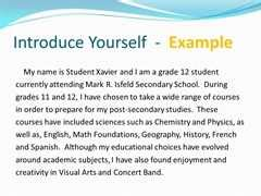 tell me about yourself essay revision help yahoo answers