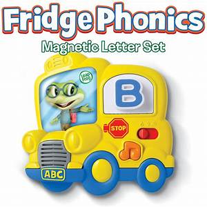 amazoncom leapfrog fridge phonics magnetic letter set With magnetic letter games