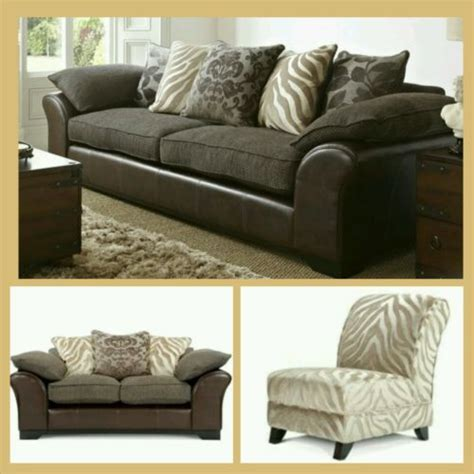 Zebra Settee by Hull Dfs Martina 4 2 Seater Sofa Settee With Accent