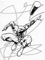 Daredevil Imprimer sketch template