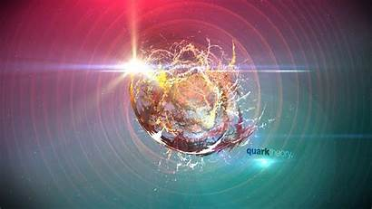 Physics Quantum Quark Theory Wallpapers Particle Background