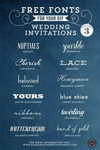 wedding invitation fonts free fonts for diy wedding invitations volume 3