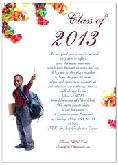 grade elementary graduation invitation
