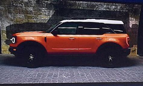ford bronco leaked