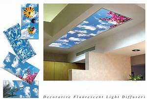 Drop ceiling light covers mesmerizing