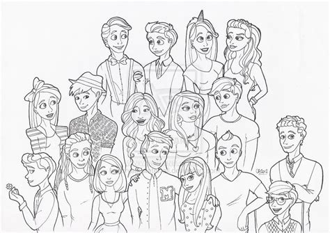glee cast coloring pages glee   glee cast glee