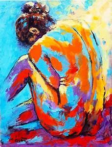 Tableau Peinture Sur Toile : peintures sur toile ~ Teatrodelosmanantiales.com Idées de Décoration