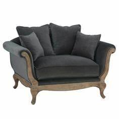 fauteuil en velours montpensier maisons du monde mdm With tapis de souris personnalisé avec canapé hanjel pompadour