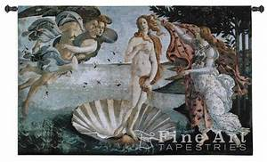 Birth Of Venus Traditional Art Tapestry Wall Hanging