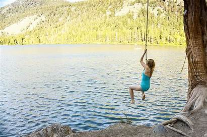 Lake Gull Country Trail Summer Swing Rope