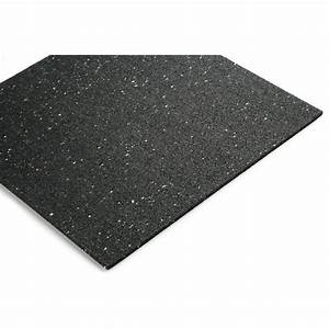 Plaque plaque sol NOMA RUB l 600 x L 600 mm, Ep 10 mm