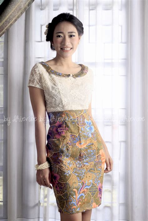 batik dress dress kebaya lace dress menursari dress